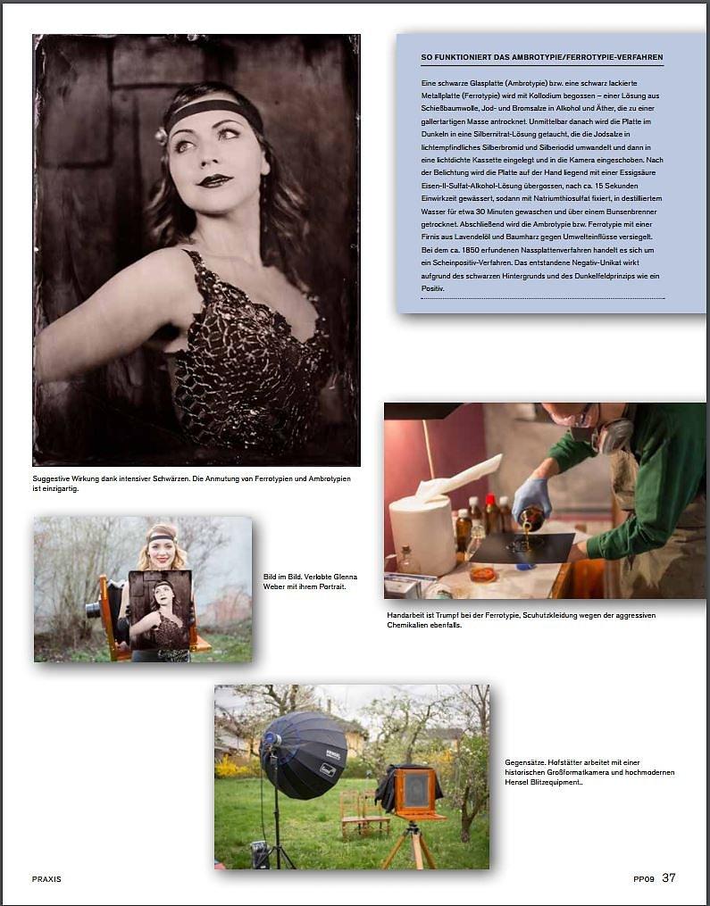 Artikel über mich und meine Arbeit in der PhotoPresse